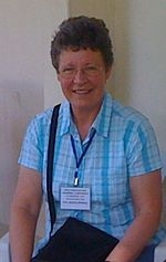 Dame (Susan) Jocelyn Bell Burnell, DBE, FRS, FRAS (born 15 July 1943)
